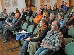 Das Publikum im Schongauer Sparkassenforum