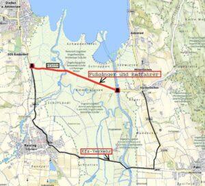 Staatsstraße 2056 soll Fuß- und Radweg werden