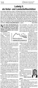 Artikel im OHA (Januar 2016) auf Seite 10