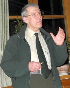 Der Referent: Dr. Hans Ehrhardt (Foto: Sigi Müller)