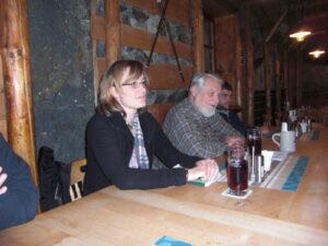 Claire Tranter und Bernhard Küstner zu Besuch bei der UIP
