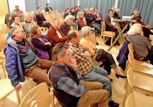 Das Publikum in der Weilheimer Theatergasse