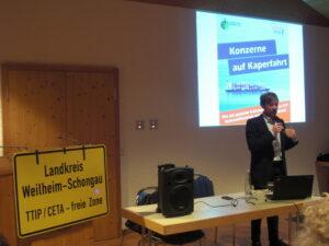 Karl Bär vom Umweltinstitut München