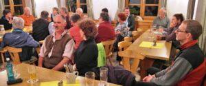 Die Jahreshauptversammlung war gut besucht. (Foto: Sigi Müller)