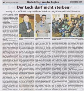 Kreisbote 20140322 Der Lech darf nicht sterben
