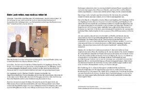 Vortrag über den Lech von Eberhard Pfeuffer und Stephan Günther (Schongauer Nachrichten online 14.03.2014)