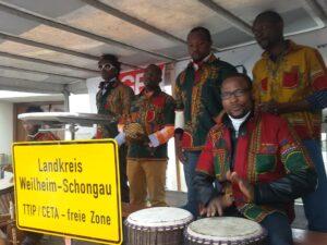 Die German-African Connection sorgte für weltoffene Stimmung.
