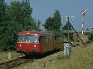 """""""Schienenbus"""" VT 98 (Foto: H. Braun)"""