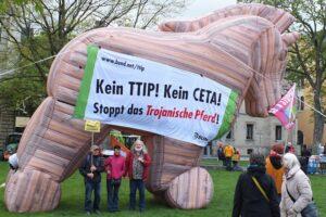 Auch der Pfaffenwinkel protestiert gegen TTIP und CETA.